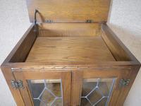 Wood Bros Old Charm Oak Hi Fi Cabinet (3 of 12)