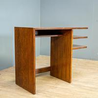 Modernist Oak Desk (2 of 6)