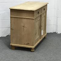 Large Old Pine Dresser Base (3 of 5)