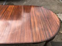 Antique Mahogany 8Ft Wind Out Extending Dining Table (14 of 14)