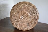 Anglo Indian Table with Circular Carved Top (8 of 10)