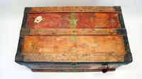 WW1 Era Marshall Campaign Chest / Trunk, Labels & Provenance (3 of 23)