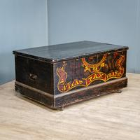 'Free Gardens Society' Painted Chest