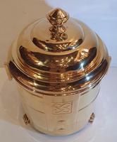 Art Deco Polished Brass Coal Bucket (5 of 5)