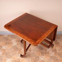 Inlaid Mahogany Edwardian Sutherland Table (13 of 19)