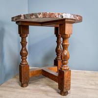Pair of Marble Top Console Tables (5 of 10)
