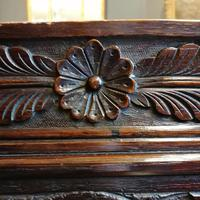 Stunning Heavily Carved Gothic Revival Oak Settle (11 of 14)