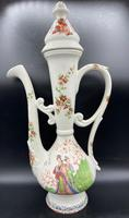 Antique Porcelain Ewer Aşurelik - Ibrik for an Turkish Market / Chinese Influence (3 of 18)