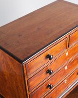 Regency Mahogany Miniature Chest of Drawers (2 of 6)