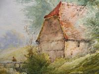 Watercolour Bates Brook Redhill Listed Artist H Rawson (5 of 12)