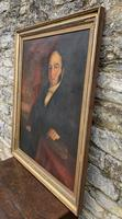 Large Antique Oil on Canvas Portrait of a Gentleman (18 of 19)