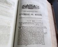 Collection of 109 Government Acts Passed in the Forty First Year of The Reign of His Majesty King George III (6 of 7)