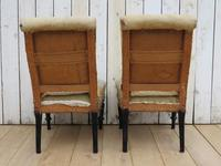 Pair of Antique French Slipper Chairs (7 of 9)