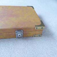 Vintage Wooden Leatherette Covered Shotgun Case (3 of 4)