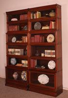 Pair of Globe Wernicke Mahogany Bookcases - 6 Elements (5 of 10)