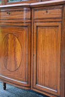 Exceptionally Fine Quality Edwardian Satinwood Display Cabinet c.1901 (9 of 20)