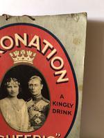 Pub Advertising Brewery Duckworth Showcard Coronation Cheerio Champagne (3 of 6)