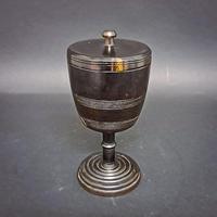 Lignum Vitae Cup & Cover