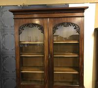 Quality Victorian Mahogany Library Bookcase (3 of 14)