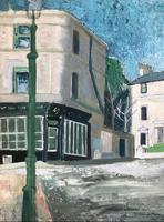 Original Oil on Board 'the Well Walk Pottery, Hampstead' by Toby Horne Shepherd 1909-1993 (3 of 3)