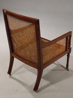 Very Good and Original Regency Period Bergère Armchair (4 of 6)
