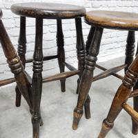 4 x 19th Century Pub Stools (4 of 5)