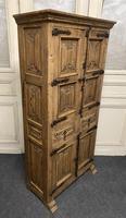 French Gothic Oak Rustic Cupboard or Wardrobe (8 of 22)