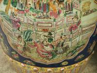 Pair of Chinese Qing Dynasty Painted Barrels / Seats (11 of 17)