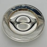 20th Century Modern Large Sterling Silver Armada Dish London 1994 Mappin & Webb (2 of 7)