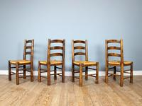 Mid-Century Dining Set attributed to Charles Dudouyt (8 of 8)