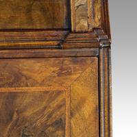19th Century Walnut Bureau Bookcase (7 of 19)
