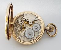 1930s Dreadnort Half Hunter Pocket Watch by Cyma (6 of 6)