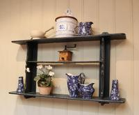 Rustic French Painted Wall Shelves (4 of 5)