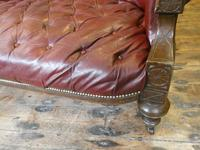 19th Century Aesthetic Leather Sofa (5 of 11)