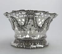 Extremely Good Solid Silver Pierced Basket / Bowl by Golds c.1899 (6 of 10)