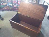 19th Century Mahogany Deed Box (3 of 6)