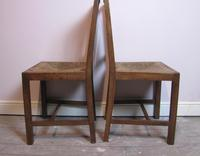Set of 6 Heals Oak Dining Chairs c.1930 (3 of 9)