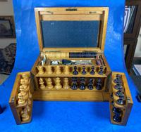 Victorian Pine Partially Fitted Games Box (17 of 32)