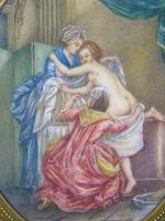 Beautiful Miniature Painting after Boucher Bathtime (3 of 6)