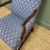 19th Century Antique Upholstered Armchair (5 of 5)
