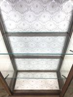 Edwardian Inlaid Mahogany Display Cabinet (5 of 10)