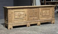 Large French Bleached Oak French Sideboard (16 of 24)