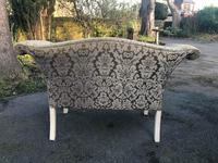 Antique English Small Upholstered Sofa (4 of 8)