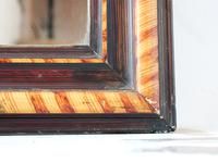 19th Century Louis Philippe Faux Grained Mirror (2 of 6)