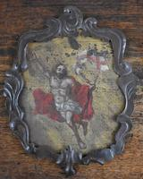 17th Century Christ Ascending Plaque Italian / French (5 of 8)