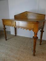 Scottish 19th Century Oak Hall Table (8 of 10)