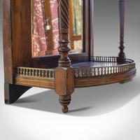 Antique Butler's Mirror, English, Rosewood, Dome Top, Wall, Victorian c.1880 (7 of 11)