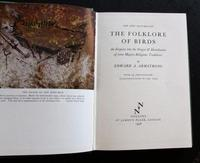 1958 1st Editon New Naturalist No 39 The Folklore of Birds by Edward Armstrong with Original Dust Jacket (2 of 5)