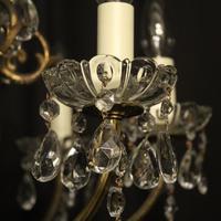 Italian Gilded 12 Light Antique Chandelier (2 of 8)