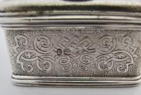 Beautiful silver travelling inkwell London c 1830 (4 of 8)